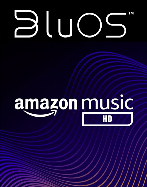 bluos amazon music hd