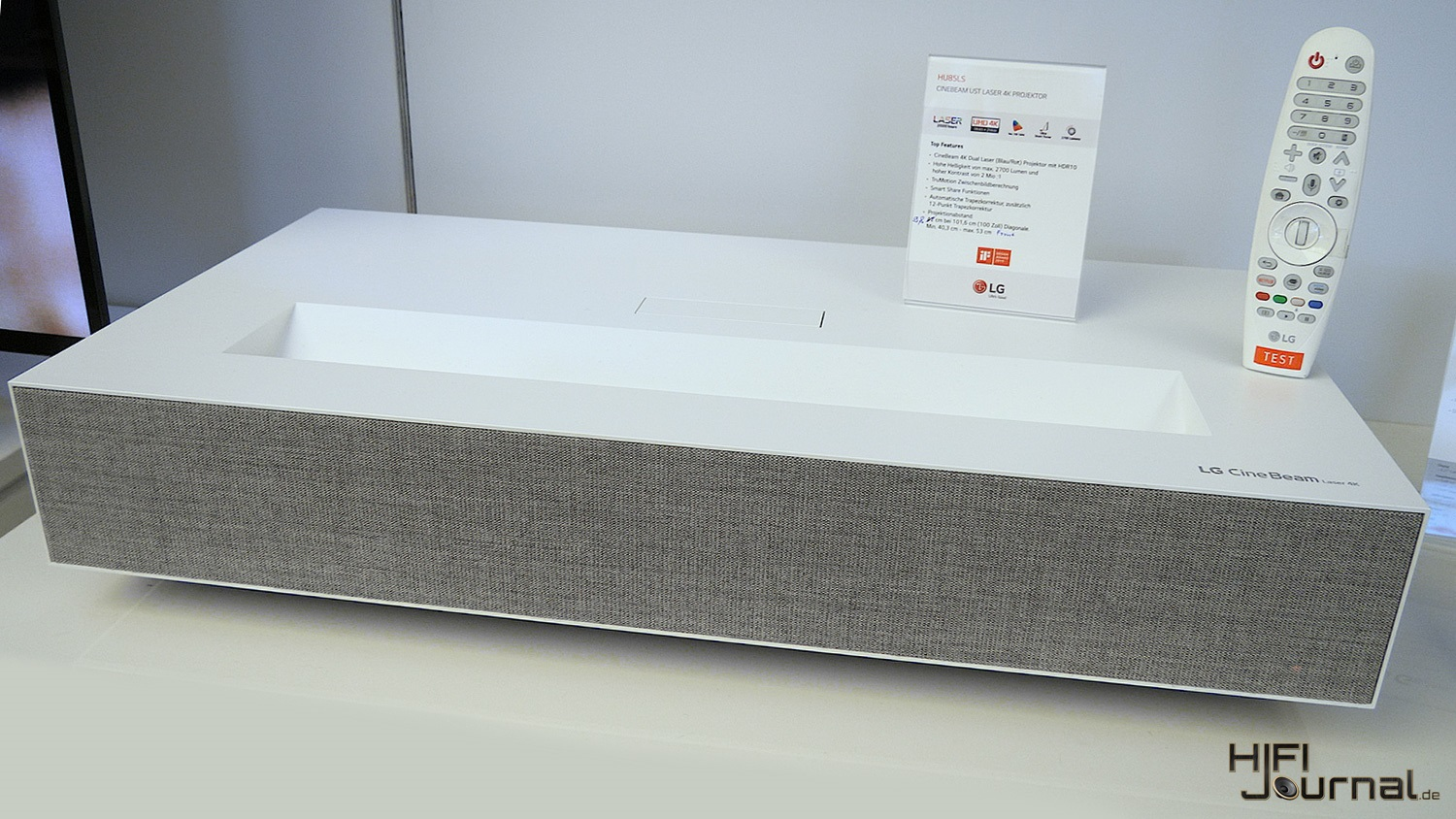 LG HU85LS 4K Kurzdistanprojektor (Video) - HiFi-Journal