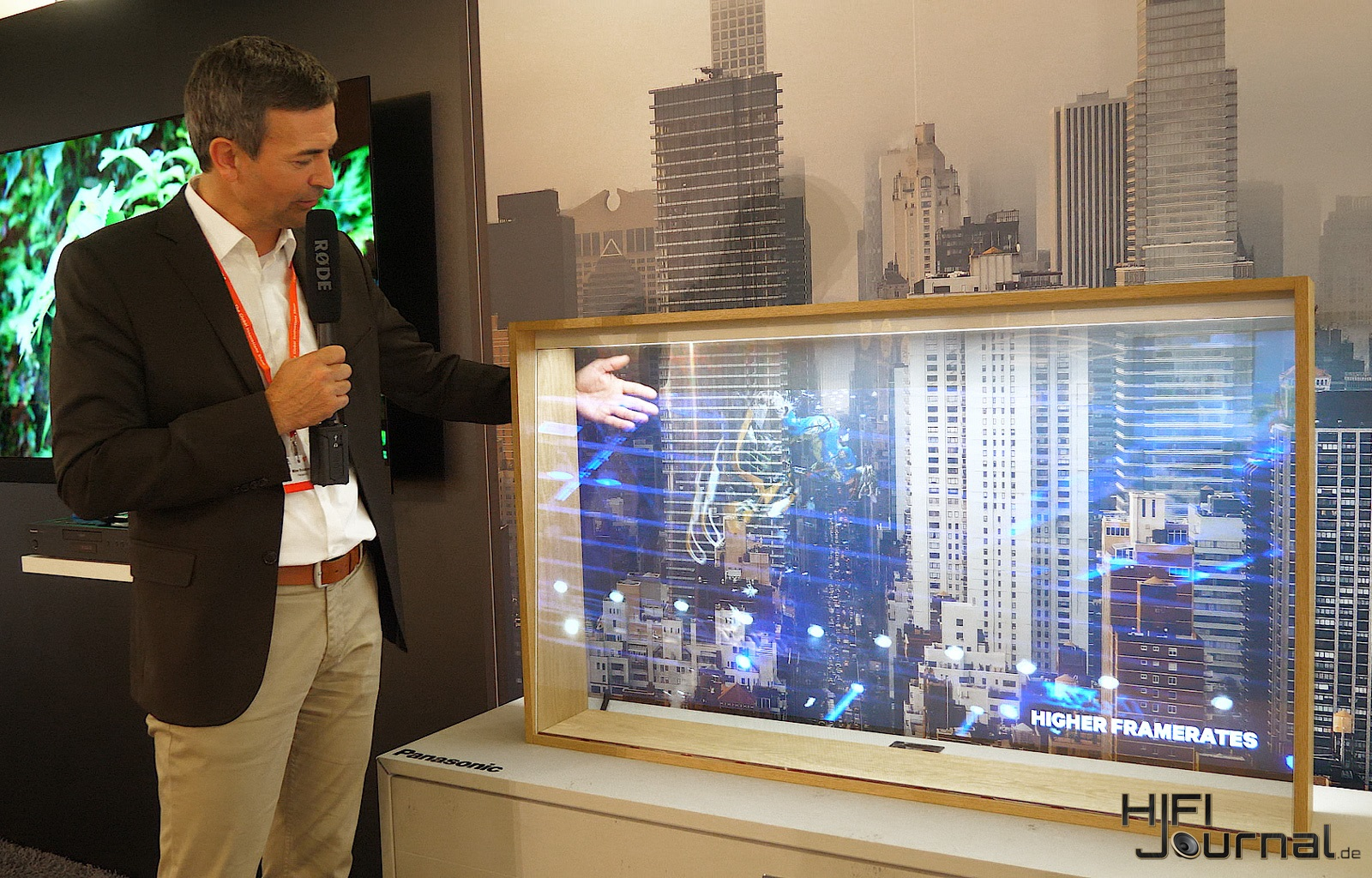 Panasonic Transparent OLED TV 02