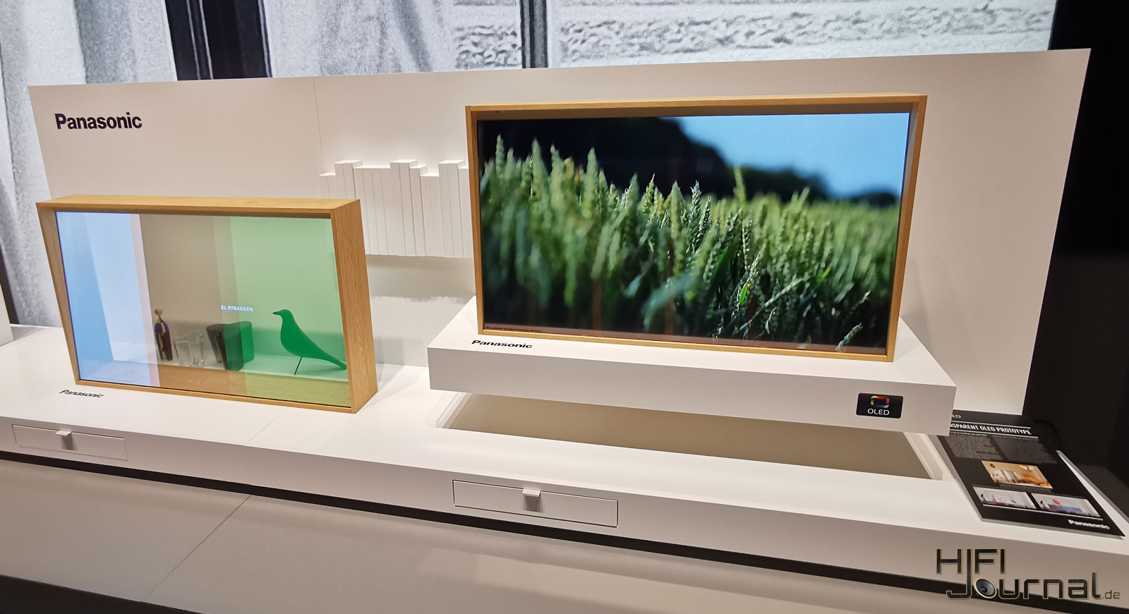 Panasonic Transparenter OLED IFA 2019 03