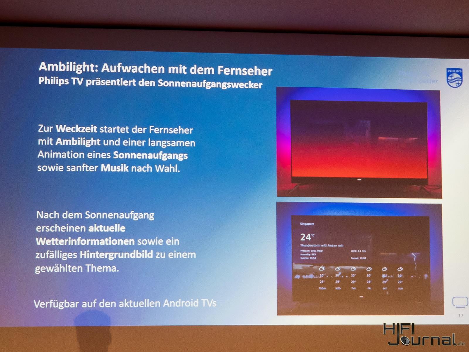 Philips Ambilight Wecker 04