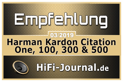 Harman Kardon Citation Serie Award