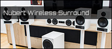 Test: Nubert Wireless Surround mit der X-Serie