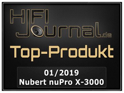 Nubert nuPro X 3000 award