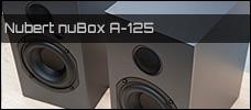 Test: Nubert nuBox A-125 Lautsprecher