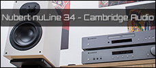 Vorstellung: Nubert nuLine 34 & Cambridge Audio AX