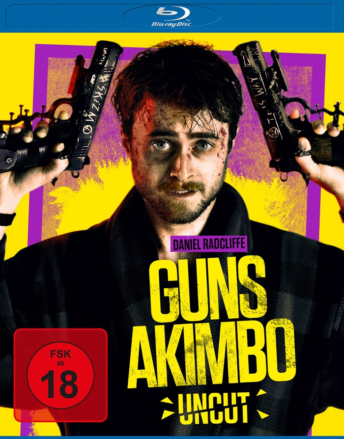 guns akimbo blu ray review cover2