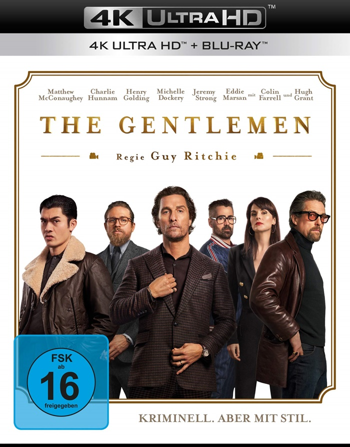 The Gentlemen 4K uhd blu ray review cover