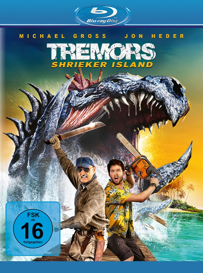 tremors shrieker island blu ray review cover