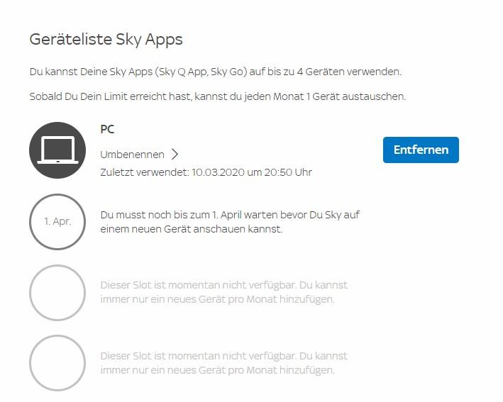 Sky.De/Geraete