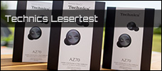 Lesertest mit Technics: 3x Technics EAH-AZ70W In-Ears