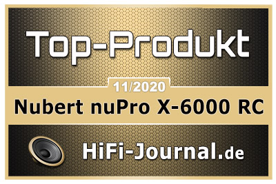 Nubert nuPro X 6000 RC award