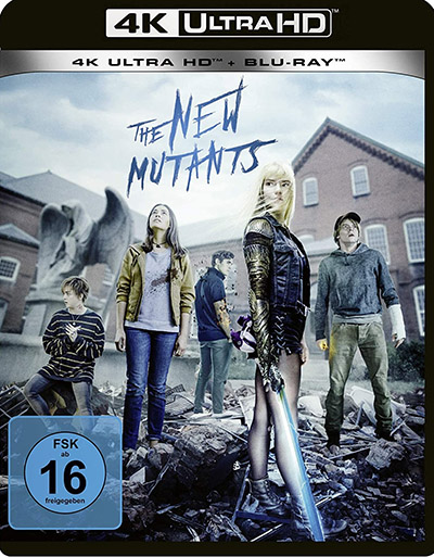 New mutants 4k uhd blu ray review cover