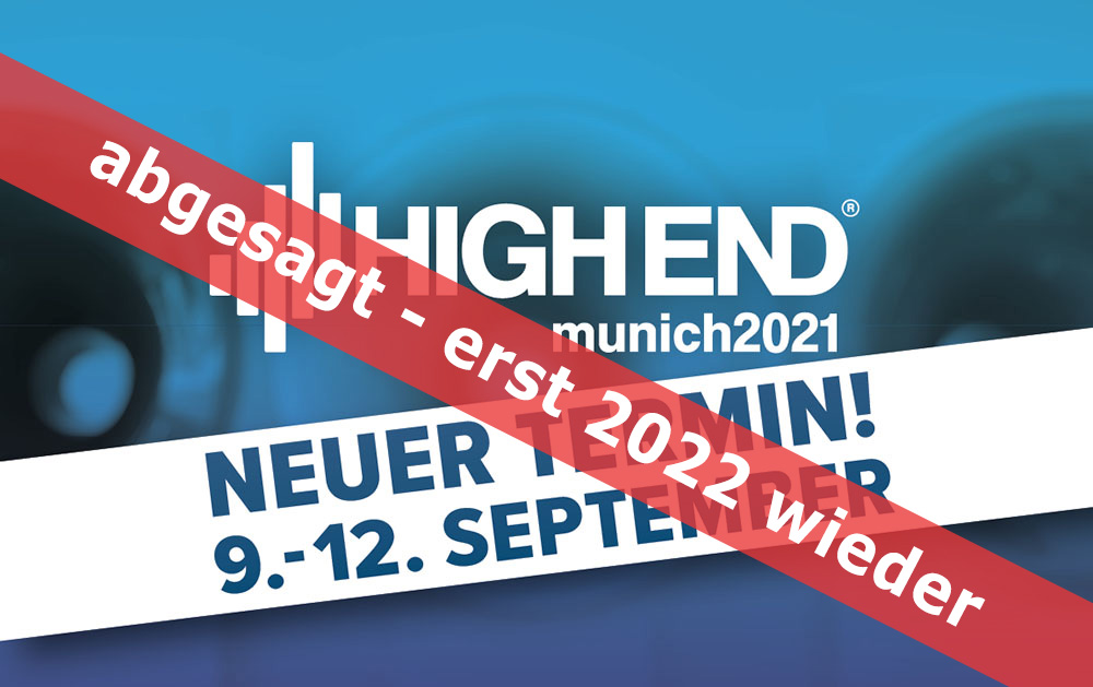 High End 2022 neuer Termin
