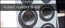 Test: Nubert nuBoxx B-60